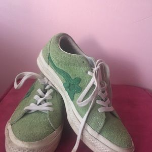 Tyler the creator golf le flour green converse